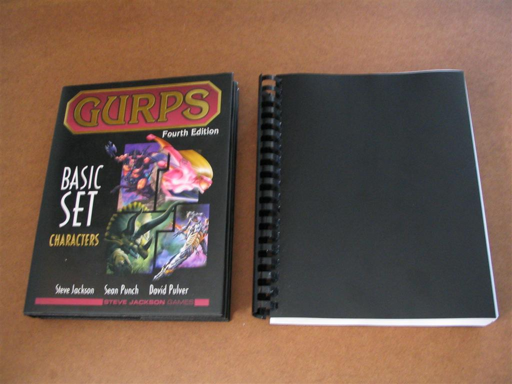 Pdf gurps basic set