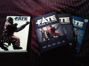 Fate Omnibus and actual Hardcovers