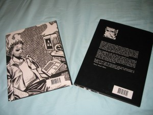Back Covers - Basic on left, Dust Covers on right