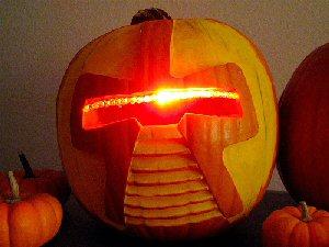 Cylon Pumpkin