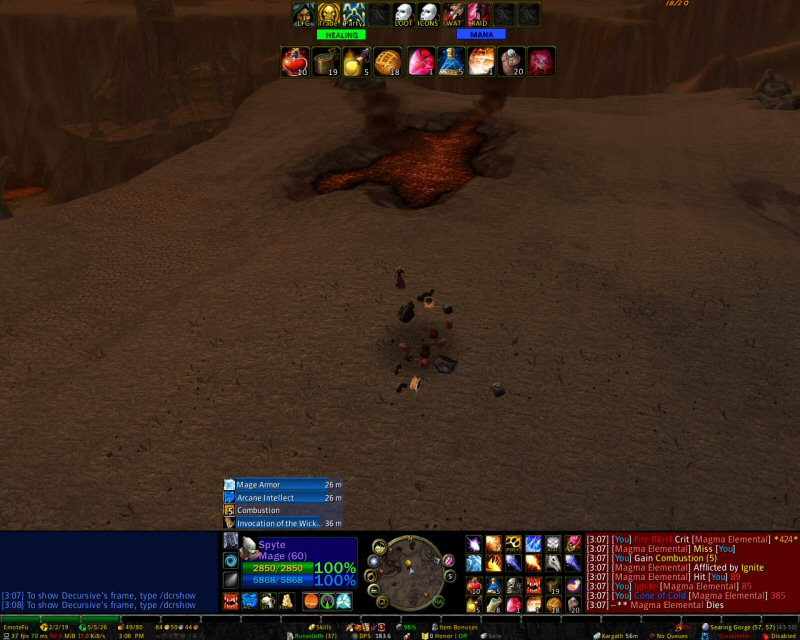 Wow Action Bar Addon